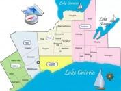 安大略省大多伦多地区GTA的区域组成