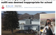 加拿大公立高中17岁女生穿这样被学校赶回家 父亲鸣不平