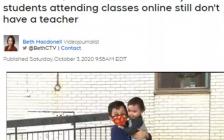 多伦多公立学校2000名中小学生没网课上   家长急疯了…