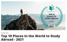 2021全球10大最佳留学地出炉!加拿大傲居榜首