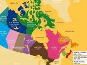 中国驻加拿大使领馆领区范围