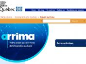 加拿大魁省留学移民多个项目将全面使用Arrima网申平台