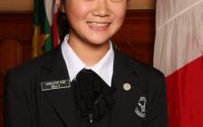 华裔少女胡嘉丽中选 担任安省议会传信员