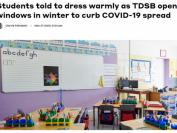 多伦多公立学校今冬将开窗上课!注意孩子保暖