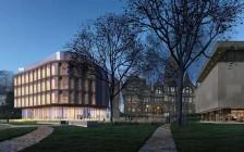 多伦多大学校园将添新建筑 全木制五角大楼让人瞠目