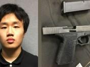 美国佛州枪案次日带枪上课 马里兰州华裔学生认罪 或判囚3年