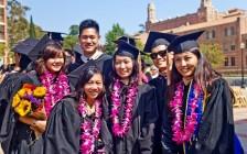 女儿在美国大学毕业了