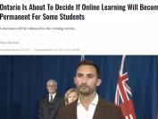 """安省公立学校考虑把""""网课""""永久化!学生可一直在家上课"""