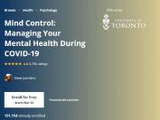 多伦多大学破天荒开在线免费课程—管理你的心理健康
