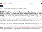 加拿大移民部:三类申请人需在30天内提交材料!否则或被拒!