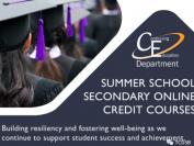 多伦多天主教教育局2021年暑期学分课程介绍