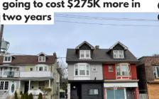 多伦多2年后平均房价可能暴涨$27.5万