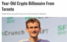滑铁卢大学辍学的27岁加密货币富豪捐10亿美元给印度抗疫