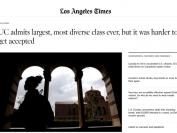 美国加州大学系统录取人数破历史纪录