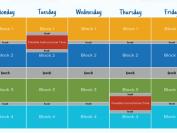 温哥华教育局2021-2022学年中学学期时间表及问答