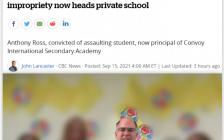 多伦多私校领航国际高中出事了  变态教师变身校长!
