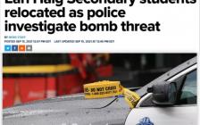 多伦多北约克公立高中Earl Haig S.S遭炸弹威胁,全员疏散!