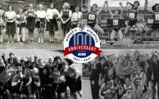 美国宾夕法尼亚大学庆祝女子校队成立100周年