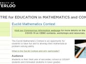 滑铁卢大学欧几里得数学竞赛(Euclid Mathematics Contest)介绍