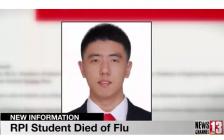 28岁中国留美博士在纽约死于流感