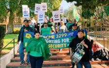 加州大学员工宣布大罢工!2.5万人全员参与!10天后举行!大家做好准备!