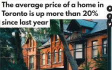 比7月还凶猛!多伦多8月房价暴涨20%!销量狂飙40%