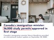 加拿大移民部预批5万份学签 留学生入境更容易