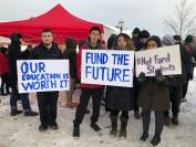 安省省长福特取消本省学生大学补贴 会毁了40%学生前程