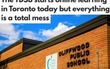 多伦多公校网课今天开始一团糟 大半学生没有教师