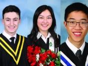 约克区天主教教育局2019年高中毕业生3人满分100并列状元