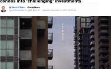 投资多伦多市中心公寓面临巨大挑战