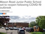 多伦多第一所因疫情被勒令关闭的公立学校今重开
