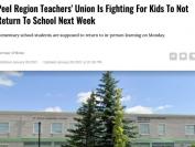 大多伦多教师工会发公开信请求政府推迟开学,医生:开了学就白封城了