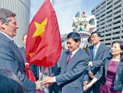 多伦多市议会升旗贺中国国庆 华裔人口占11%