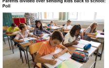 加拿大秋季开学在即 家长们为是否送孩子上学很纠结