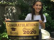 多伦多公立教育局2020年高中毕业生唯一满分女状元是她