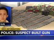 美国警方:台湾留学生孙安佐拥枪和1600发子弹
