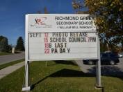 约克区教育局的著名公立高中Richmond Green  High School