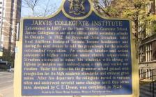 多伦多地标:200多年历史的多伦多公立高中Jarvis Collegiate Institute