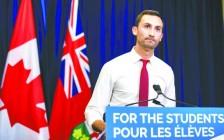 安省省府与加拿大公共雇员工会达成临时协议  今天安省公校正常上课