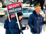 安省公立学校老师罢工升级 究竟是什么问题谈不拢?