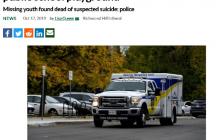 万锦公立高中St. Robert Catholic High School20天内两名学生身亡 校长终于回应了