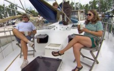 多伦多住房成本太高 有人选择永久生活在船上