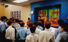 多伦多顶级私校UCC上加拿大学院邀请艺术家刘亚东举办中国艺术大讲堂
