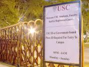美国南加大的院墙:曾经是美国最不安全的校园之一