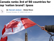 """加拿大囊括""""国家品牌指数""""6个类别中3个第一!包括移民投资"""