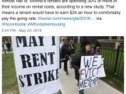 在多伦多时薪不够这个数你都不敢租房!一半租客都在挣扎!