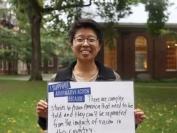 哈佛大学华裔女生发文支持平权法案