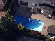 痛心 加拿大2岁女童托儿所走失 发现在隔壁后院的泳池溺亡