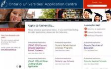 高中生申请加拿大安省大学不可不知的OUAC系统使用说明